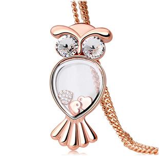 Kovtia crystal long necklace HXA513442B
