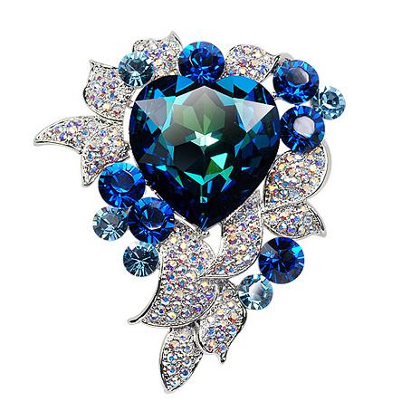 Popular luxury heart of ocean brooch 500...