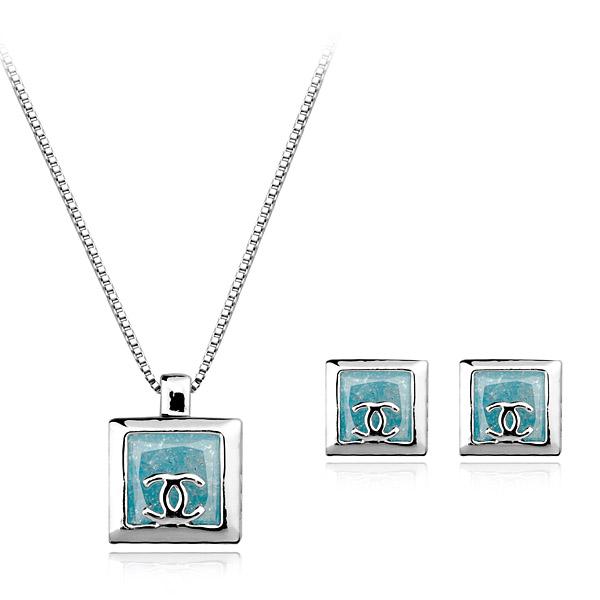 Popular zircon jewelry set  SNT0015002