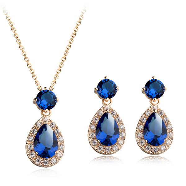 Popular zircon jewelry set 1860528