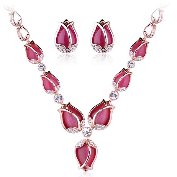 Popular luxurious opal jewelry set V0512...