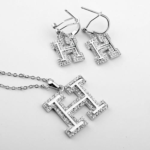 Popular crystal jewelry set SKA1887002