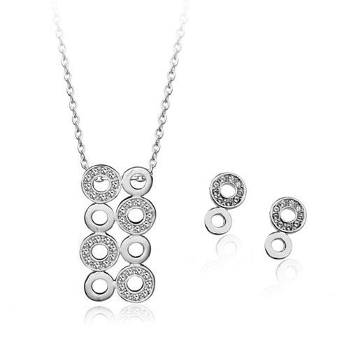Popular crystal jewelry set 1823844