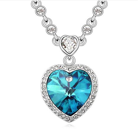 Austria crystal necklace  KY10800