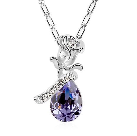 Austria crystal necklace KY11104