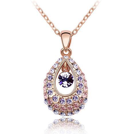 Austrian crystal necklace KY1480