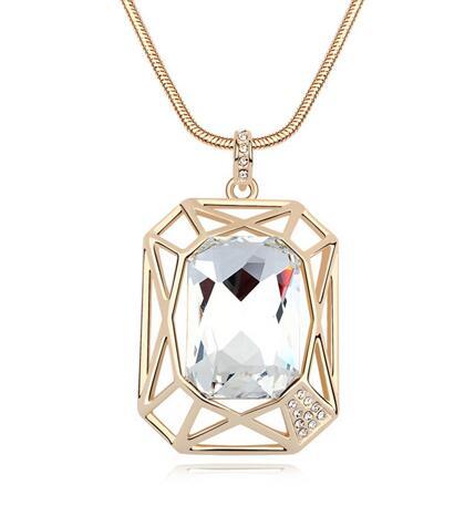 Austria crystal necklace KY11237