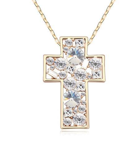 Austria crystal necklace KY11266