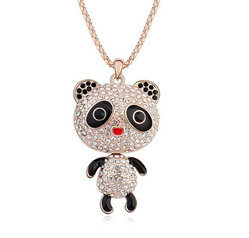 Austria crystal necklace KY11272