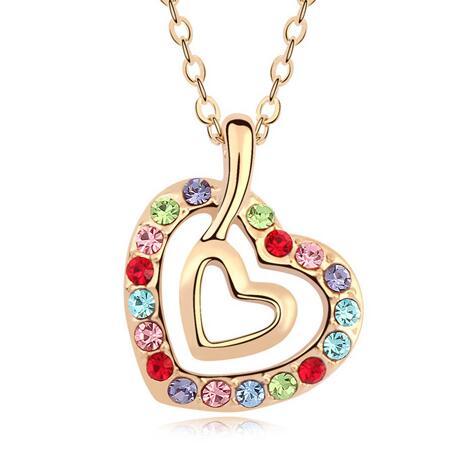 Austria crystal necklace KY11273