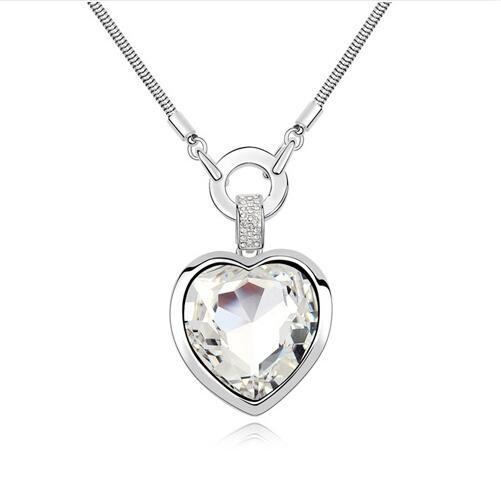 Austrian crystal necklace   KY11296