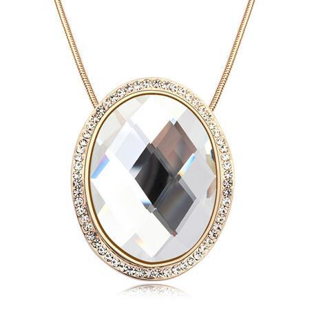 Austrian crystal necklace  KY11293