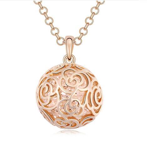 Austria crystal necklace KY11287