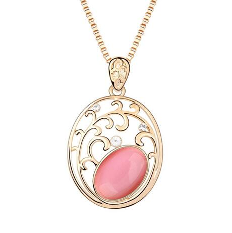 Kovtia crystal long necklace KY7155