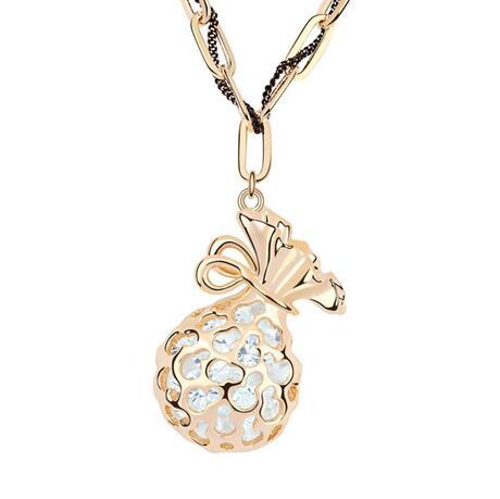 Kovtia crystal long necklace KY6979