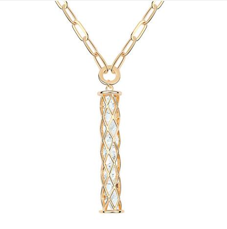 Kovtia crystal long necklace KY6879