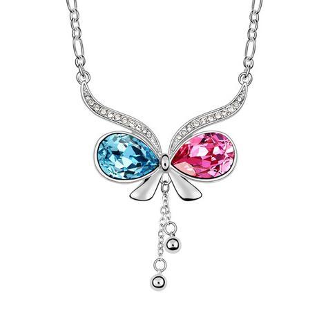 Kovtia crystal long necklace KY6568