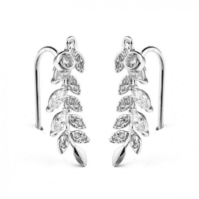 leaf earring  125669