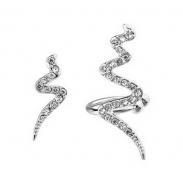 snake earring 125666