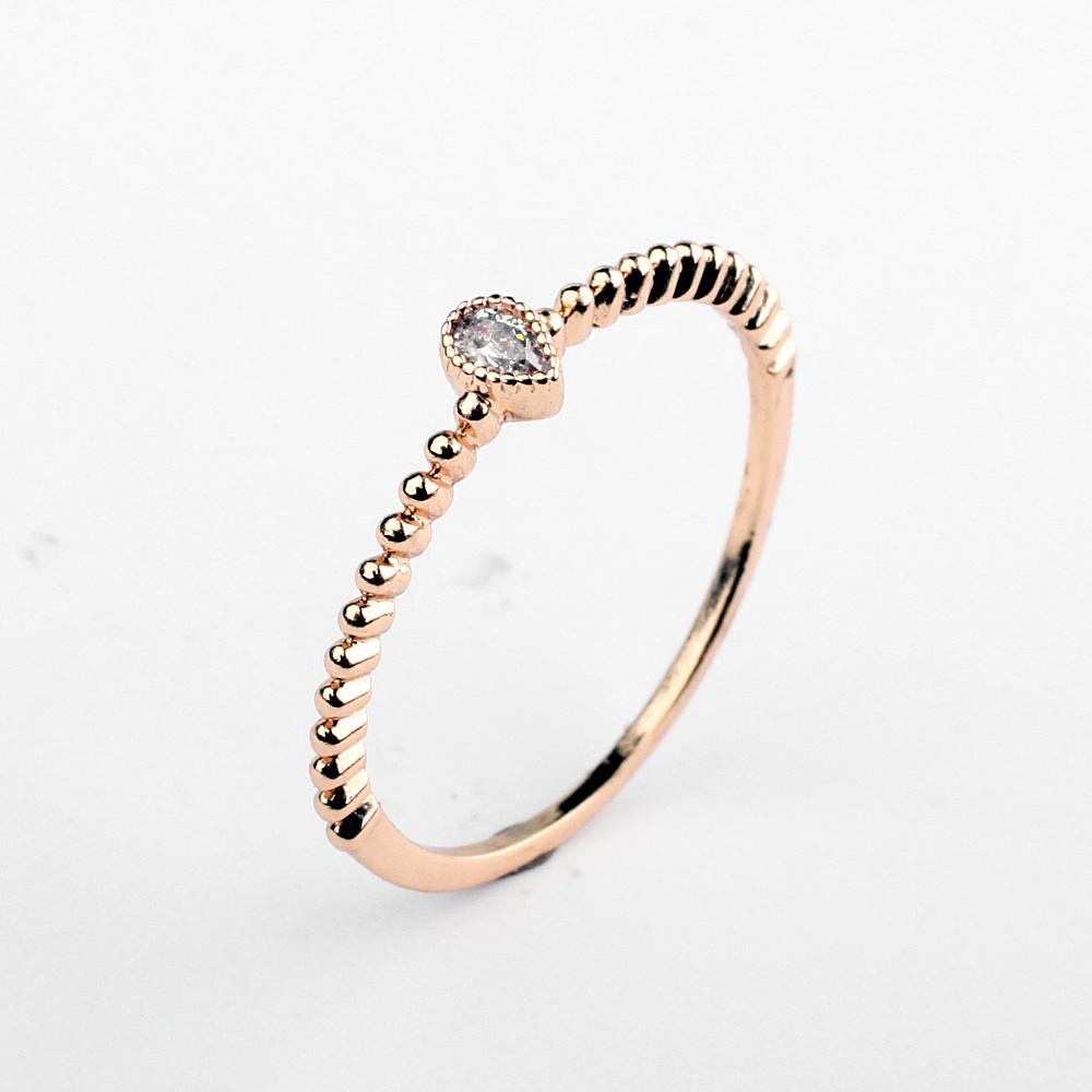 waterdrop zircon ring 97586