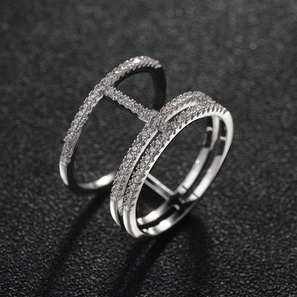 zircon double ring 10376002