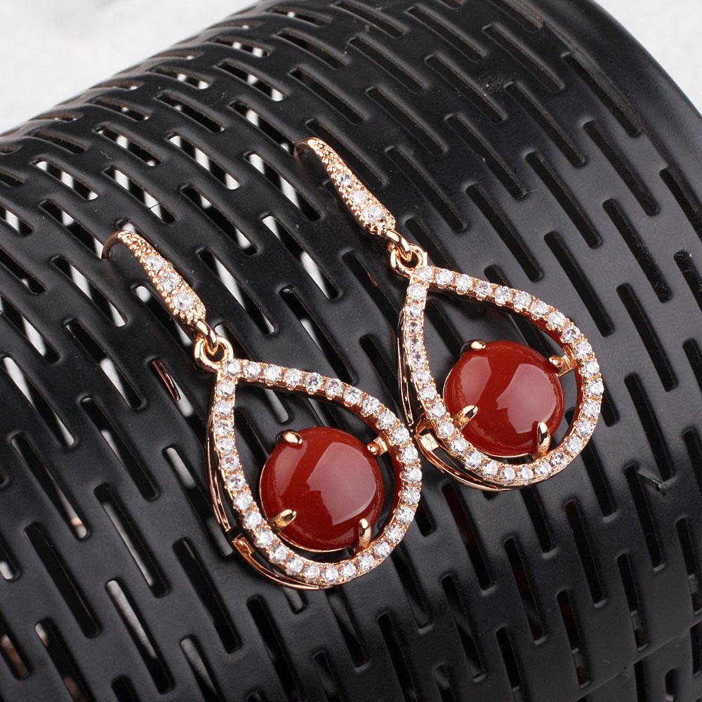 zircon diamond earring 87800