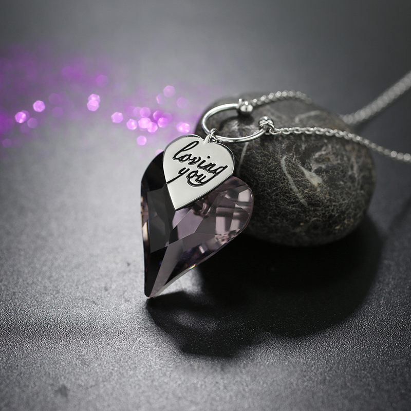 heart necklace 201065