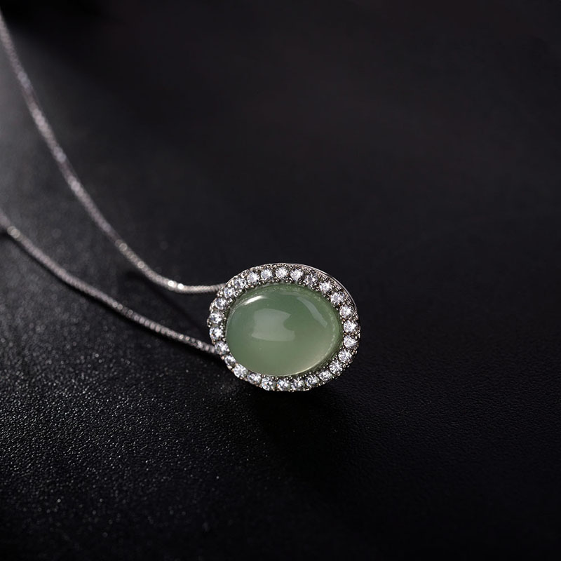natural crystal necklace 331289