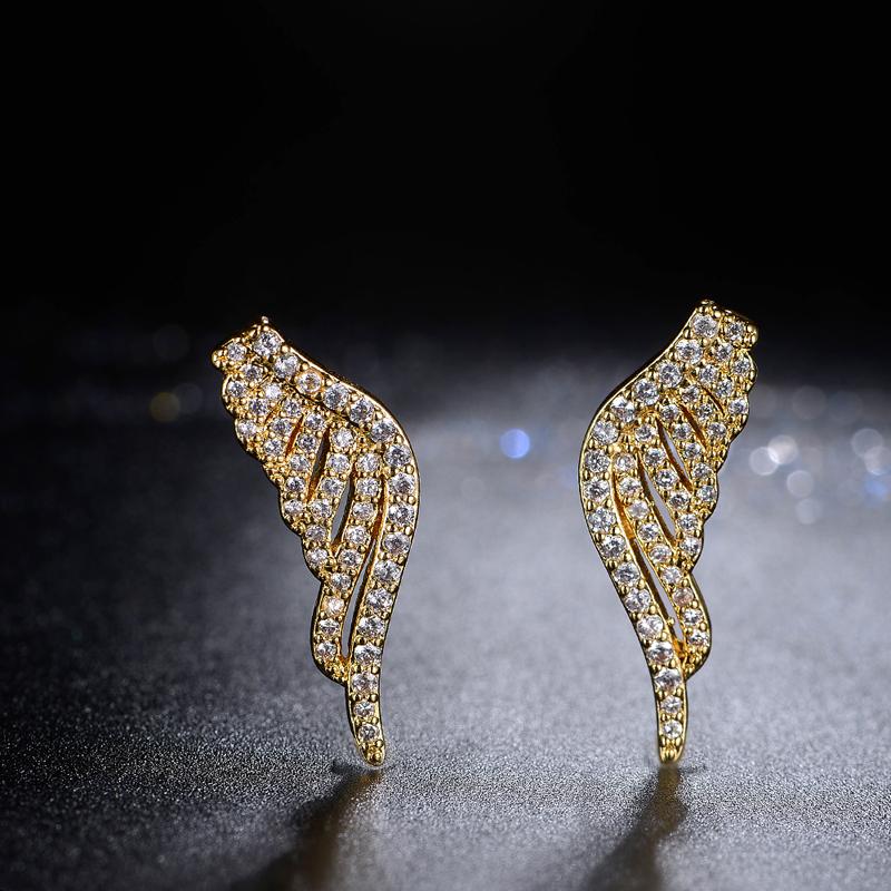 fashion wing earrings 2045