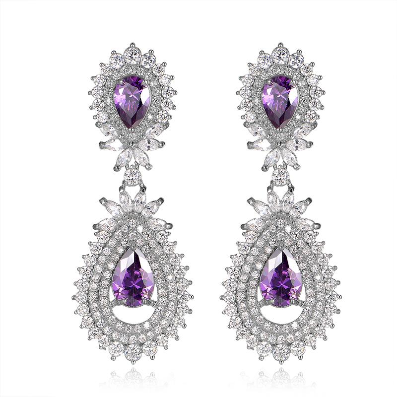 new zircon earrings 2035