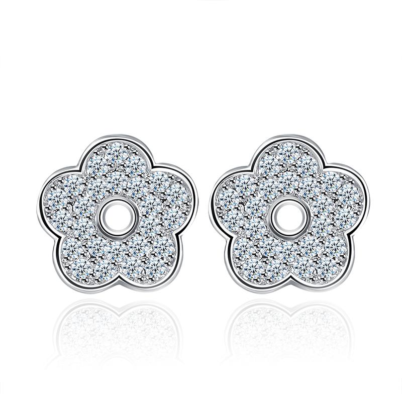 flower stud earrings 2002