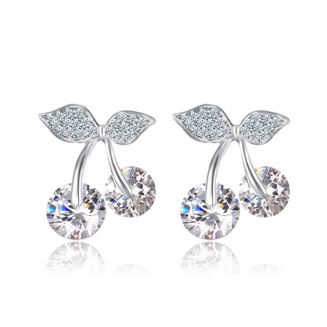 fashion zircon earrings 2023 zircon earrings zircon jewelry fashion