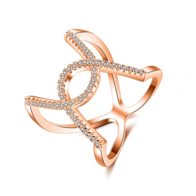 fashion zircon ring 4030