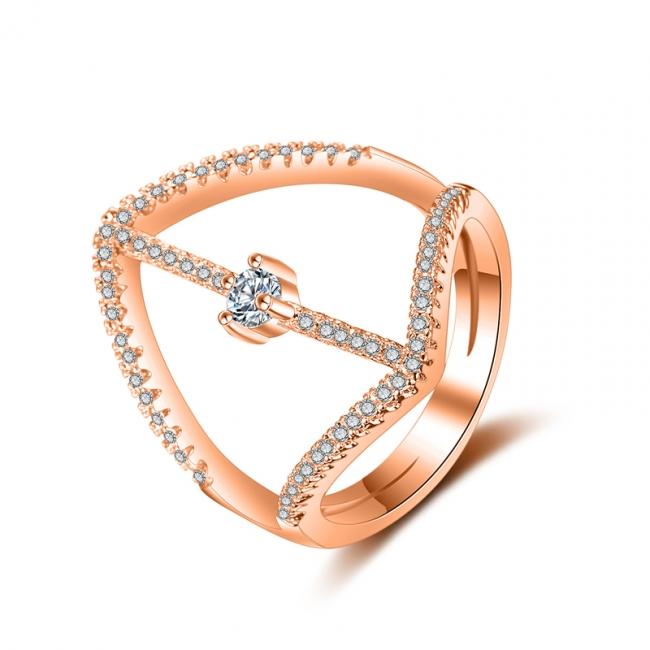 fashion zircon ring 4031