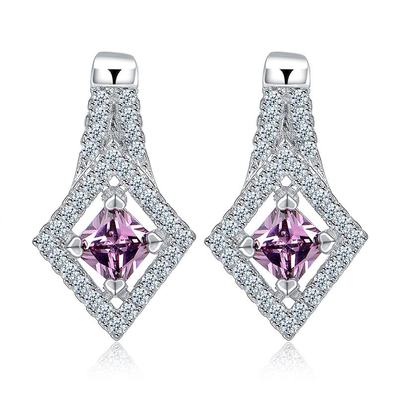 fashion zircon earrings 2014