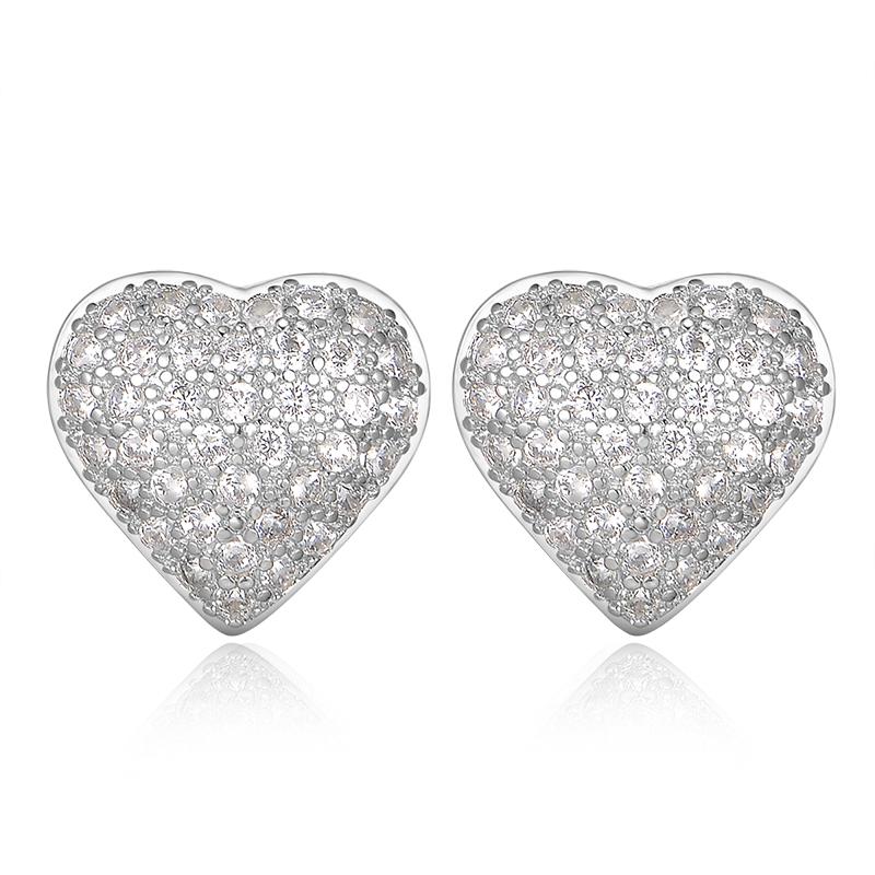 heart stud earrings 2016