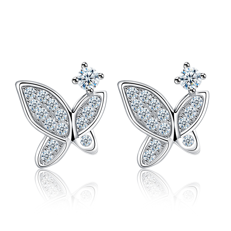 butterfly stud earrings 2017