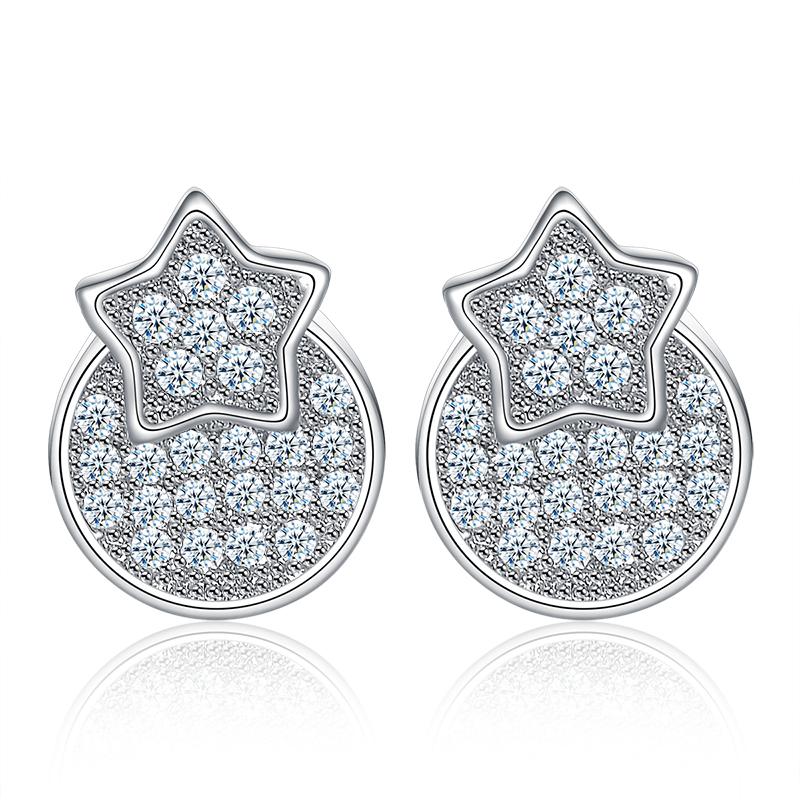 fashion zircon earring 2018