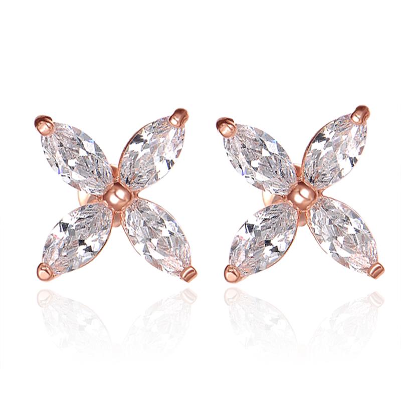 fashion zircon earrings 2019