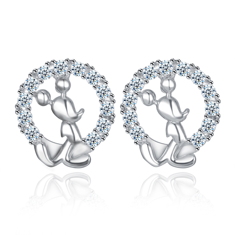 fashion zircon earring 2024