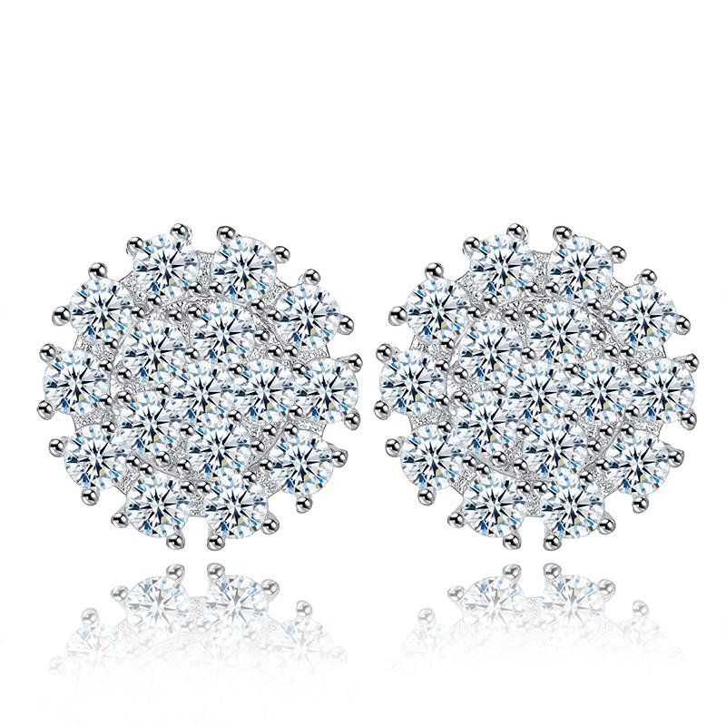 fashion zircon earrings 2026