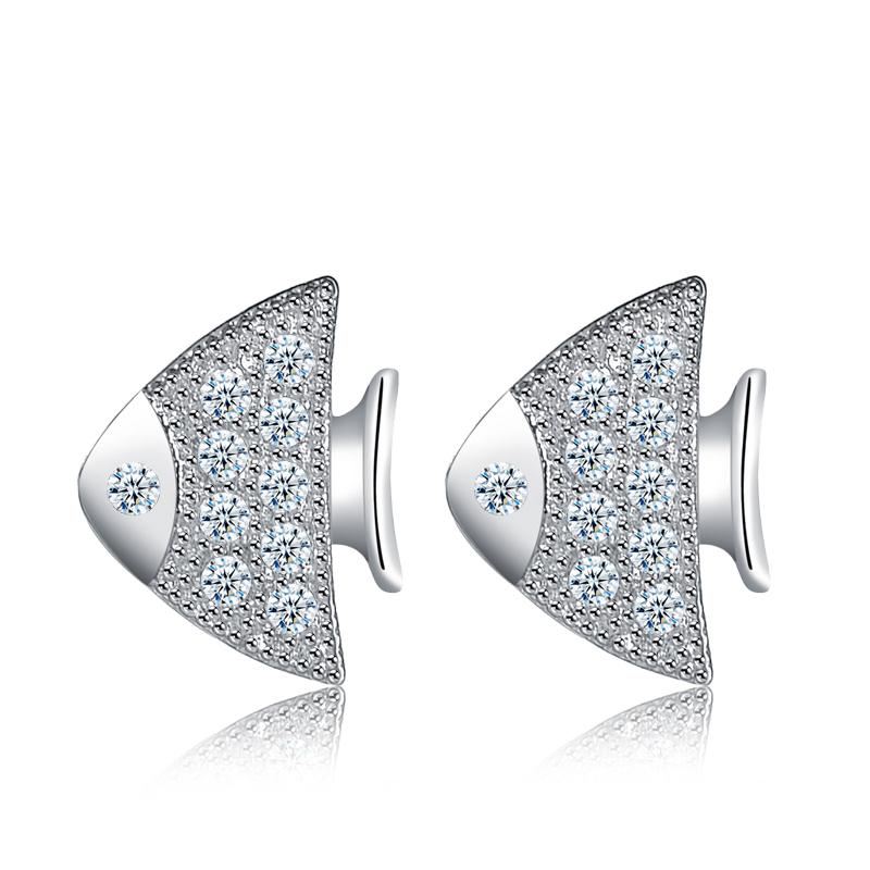 fish stud earring 2029