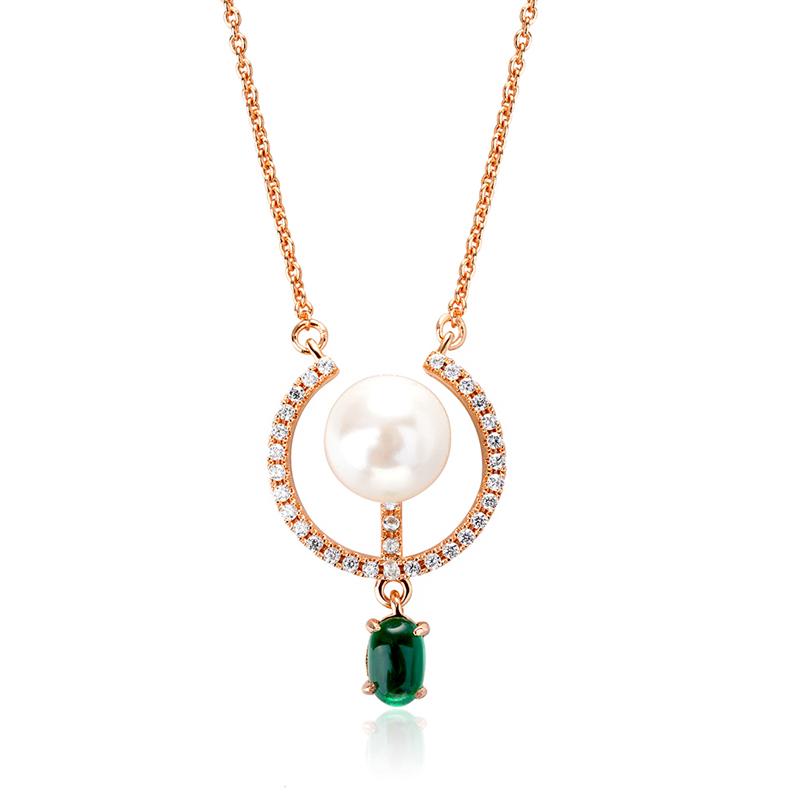 fashion zircon necklace 62108