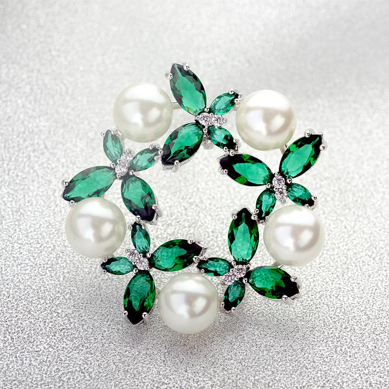 fashion flower brooch 53734