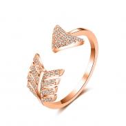 fashion zircon open ring 4012