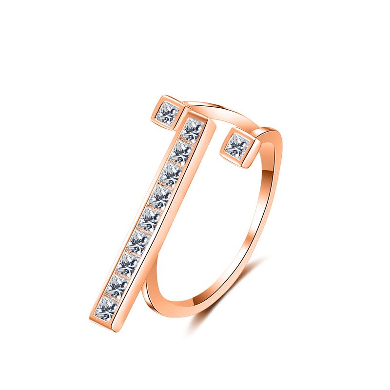 fashion zircon ring 4020