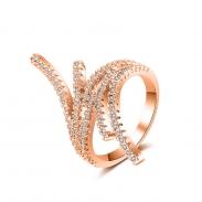 fashion zircon open ring 4021