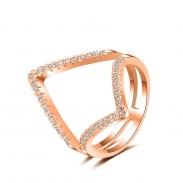 fashion zircon open ring 4026