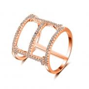 fashion zircon ring 4029