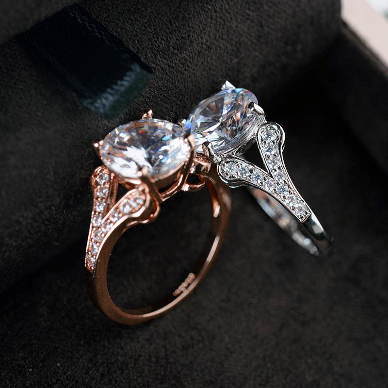 fashion zircon ring 97618
